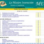 Programme de mission d'examen